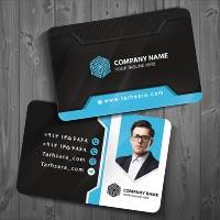 کارت ویزیت لایه باز شخصی شرکتی